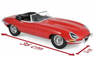 JAGUAR E-Type 3.8 l - 1962 - red - Norev 1:12