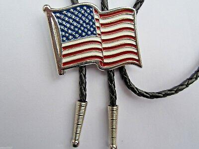 Corbata Bolo EE. UU. estrellas Y Rayas Diseño Y occidental país o desgaste de Rock and Roll   eBay