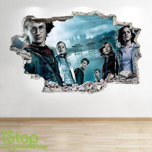 Salon Applique Le Coucher D'origine Potter Mural Afficher Autocollant Murale Titre Harry Look Sur À Détails Enfants Chambre Z69 3d ARq4LcjS35