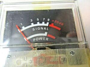 Navaho-Signal-Power-Meter-6L-21-Realistic-TRC-457-Base-Ham-CB-Radio-TC-Vintage