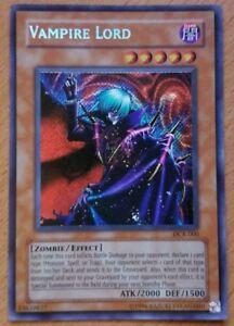 Details about VAMPIRE LORD - DCR-000 - Secret Rare Holo Foil YuGiOh Card