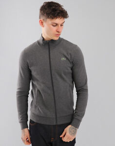 e9d94af4 Image is loading Lacoste-Sport-Full-Zip-Sweat-Pitch-Grey