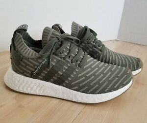 3b5fc06e2 Women s adidas NMD R2 PK Size 10 Japan Olive BY9953 Boost Primeknit ...