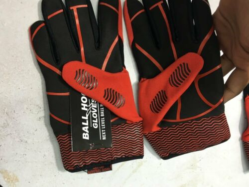 Ball Hog Gloves X-Factor BASKETBALL HANDLING DRIBBLING Dribble Training Aid Gear