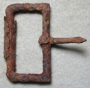 "Civil War Relic Iron CS Cartridge Box Buckle, Inside Diameter 2.00 ""/ Central VA"