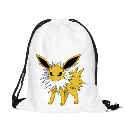School Water Resistant Bags Drawstring Backpack Gym Swim  Sport Dance Kids Child