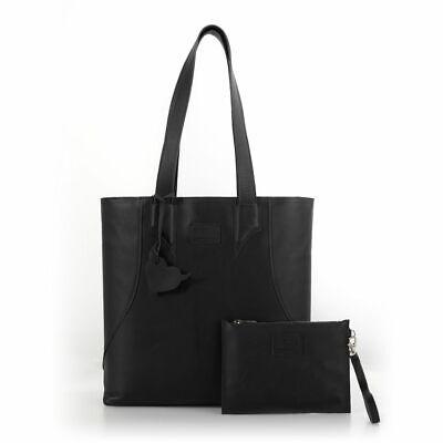 Ladies morbida pelle italiana Grande Shopper Borse Donne Ragazze Spalla Tote Bag