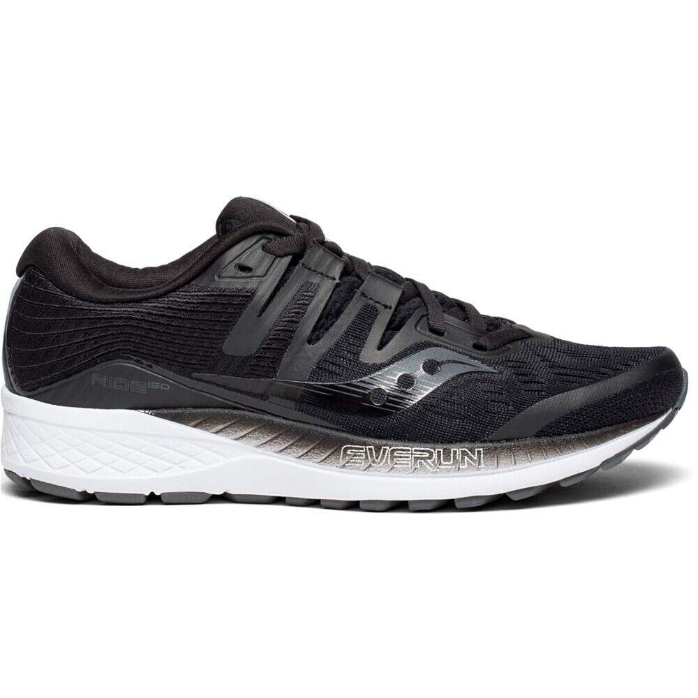 Saucony Ride ISO Ancho Negro S10445-2 Para Mujer Running Zapatos TENIS