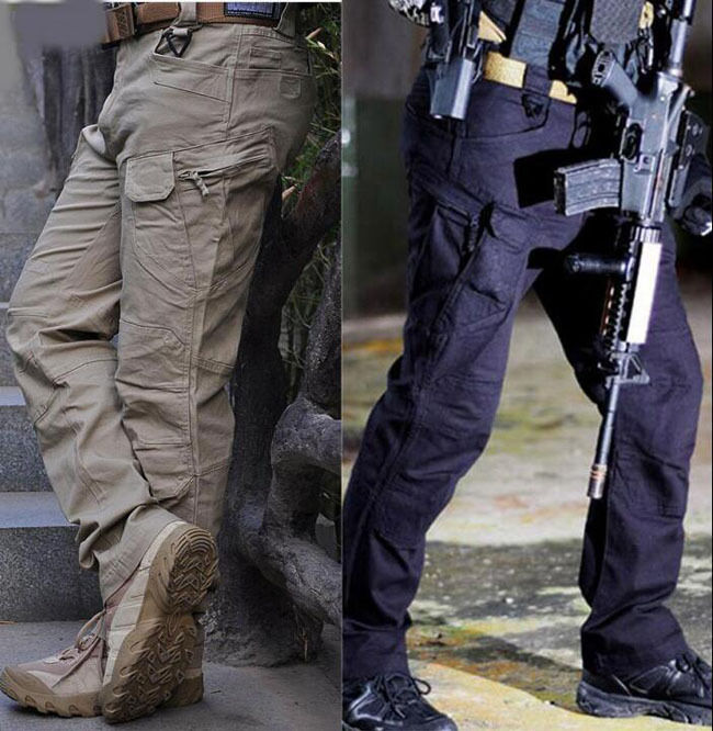 Tactical Pants Military Army Cargo Security Combat Hiking Hunting Trousers  P03  choices with low price