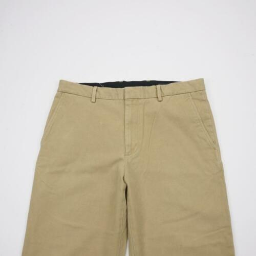 BANANA REPUBLIC Flat Front Chino Casual Pants Tan