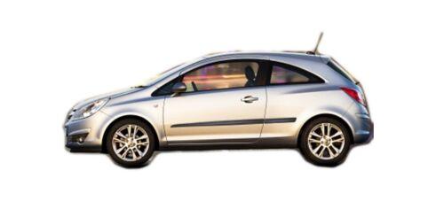 Door protection strips Shock protector for Opel Corsa D 3 doors 2006-2013