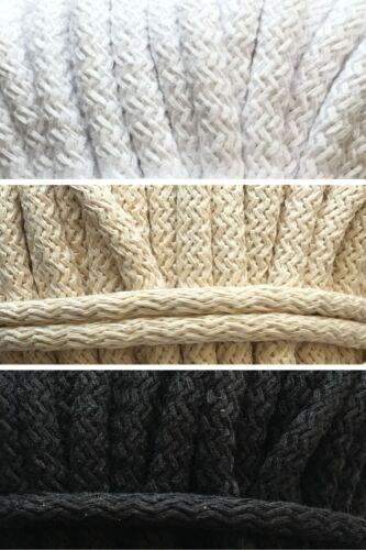 2 Meter 1,00€//m oder 25 Meter 0,90€//m Baumwollkordel 9mm Kordel Baumwolle Schnur