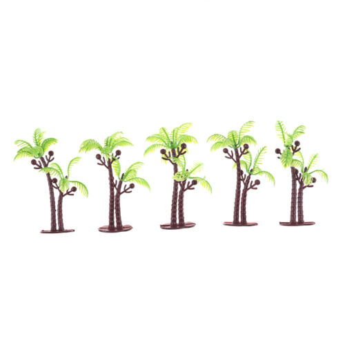 5PCS Dollhouse Miniature Tree Dollhouse Scenery Layout Landscape Trees PipFBDC