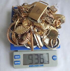 LOT-2063-lb-936gr-Watch-Jewelry-10-12-14k-Gold-Filled-Scrap-For-Bullion-Gold