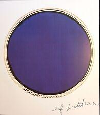 REFLECTIONS SERIES ROY LICHTENSTEIN * MIRROR No. 6 * HAND SIGNED PRINT W/COA