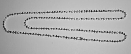 """FREE SHIPPING 25 Silver Plated 30/"""" Long Ball Chain Necklace with Connector"""
