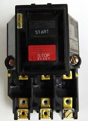 Square D 2510 MB0-2 Series A Motor Starter 600 V Max 3-Pole