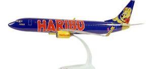 HARIBO-Tuifly-Boeing-737-800-GoldbAir-1-100-D-AHFM-ohne-Karton-NEU