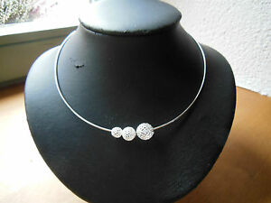 joyeria-plata-plata-de-ley-925-collar-cadena-Omega-Alambre-Bolas