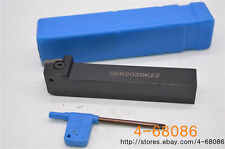2pcs SER2020K22 20x125mm right Hand Lathe Threading Turning Tool turntool holder