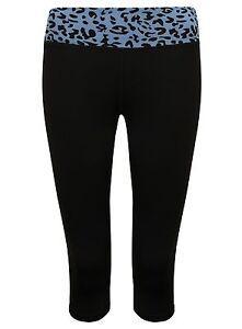 Polainas-de-las-Senoras-De-Fitness-3-4-Animal-de-la-impresion-Deportes-pantalones-elastico-para