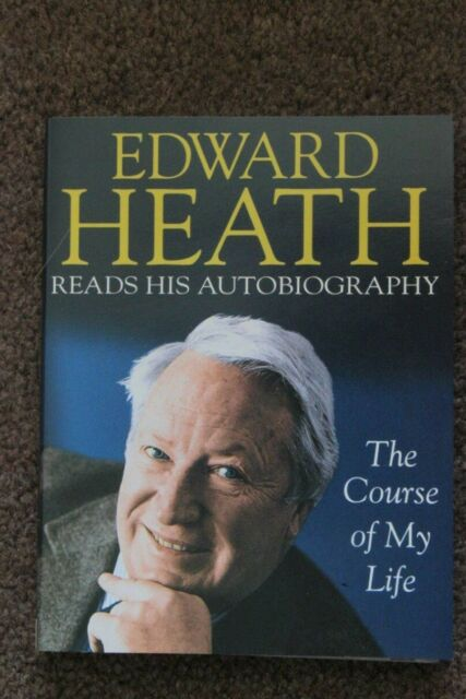 EDWARD HEATH READS HIS AUTOBIOGRAPHY Double cassette audio book