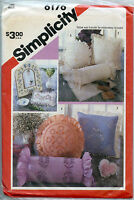 Candlewicking Accessories - Pillows, Frames Sewing Pat