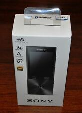 NEW Sony NWZ-A15 16GB MP3 Walkman Hi-Res Audio FLAC mp3 Black Genuine NWZA15