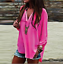 thumbnail 7 - Women-Long-Sleeve-Chiffon-T-Shirt-Ladies-Summer-Loose-Tops-Blouse-Plus-Size-Hot