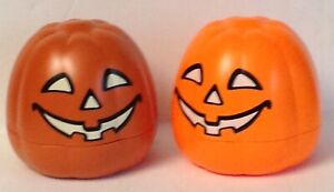 "4/""x4/""x4/"" 2 /""NEw/"" Halloween Playmobil Pumpkins"