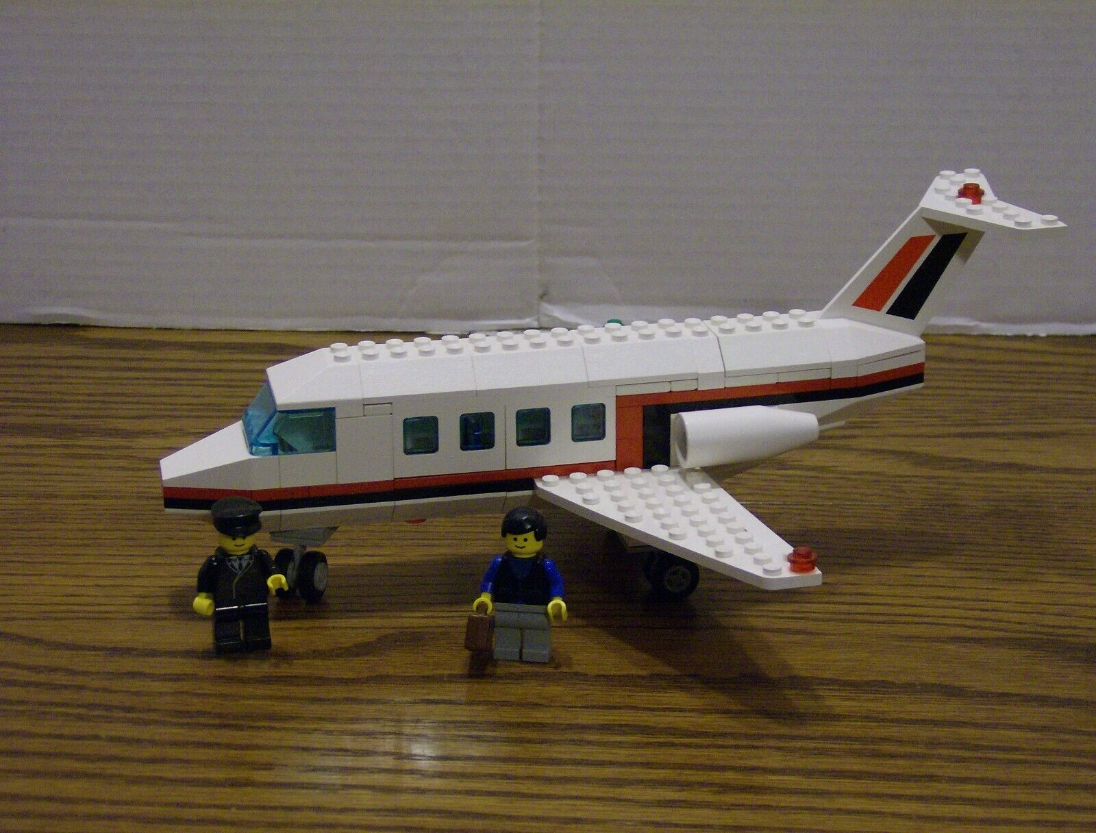 Lego 6368 Classic Town Plane JET AIRLINER Complete NO Instructions