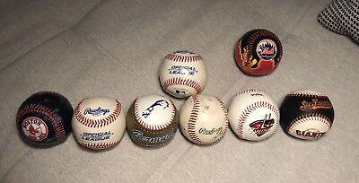 Red Sox Ein Unbestimmt Neues Erscheinungsbild GewäHrleisten Haben Sie Einen Fragenden Verstand 8x Baseball Sammlerbälle Giants Twins Mets