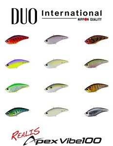 s DUO Realis Apex Vibe 100 Lipless Crankbait Lure Select Color
