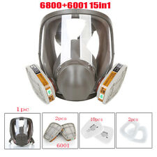 Full Face Mask Filter Painting Spraying Gas Cover For 6800 Facepiece Respirator