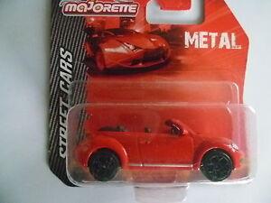 VOLKSWAGEN-beetle-cabriolet-ech-1-60-MAJORETTE-metal-blister-scelle