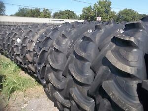 TWO-420-85R30-16-9R30-Harvest-King-Radial-fits-Deere-Ford-IH-Equipment-Tires