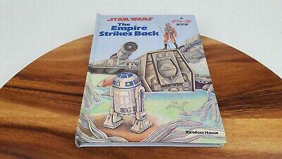Vintage STAR WARS 1980 Random House Empire Strikes Back Illustrated Pop-Up Book