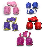 Skateboard Kids Elbow Knee Wrist Safe Set Gear Pad Guard Protector 5 Colors Usa