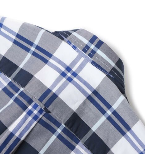 Fred Perry Modernist Blue /& White Check Men/'s Long Sleeve Shirt M3265-100