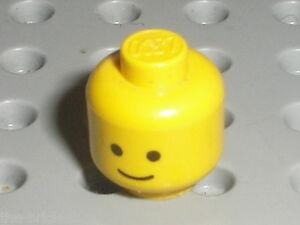 Tete Personnage LEGO VINTAGE minifig head ref 3626ap01 / Set 6075 6080 7745 4554 - France - État : Occasion: Objet ayant été utilisé. Consulter la description du vendeur pour avoir plus de détails sur les éventuelles imperfections. ... - France