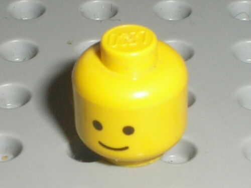 Tete Personnage LEGO VINTAGE minifig head ref 3626ap01 Set 6075 6080 7745 4554