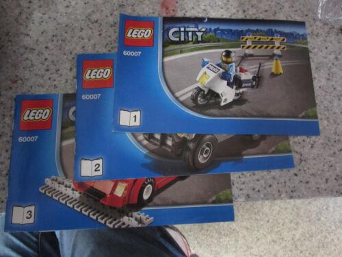 LEGO Bau- & Konstruktionsspielzeug VARIOUS ORIGINAL LEGO CITY INSTRUCTION MANUALS LEGO Bausteine & Bauzubehör