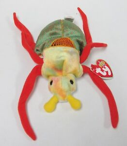 6c706c63deb Ty Beanie Baby Scurry the Beetle BUG Pristine BRAND NEW MINT TAGS ...