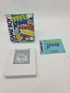 RARE NEUF Game boy Gameboy TETRIS ATTACK Game Boxed Boite OVP DMG-AYLP-FAH/EUR