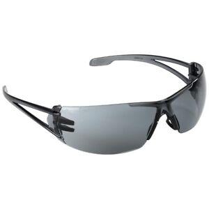 Infield Schutzbrille dunkel getönt , Arbeitsschutzb<wbr/>rille , extrem leicht