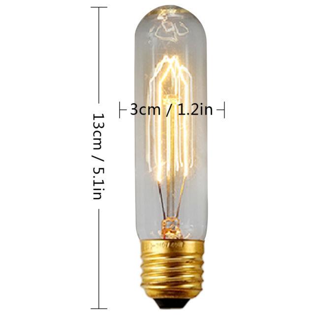 E27 E14 220V 40W Filament Light Vintage Retro Industrial Style Lamp Edison Bulb