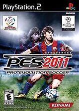 Pro Evolution Soccer 2011 PS2 New Playstation 2