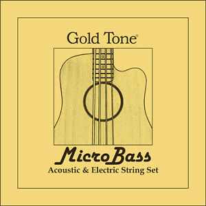 GOLD MBS Aquila Tone thunderguts Gomma/Polymer Stringhe Per Microbass