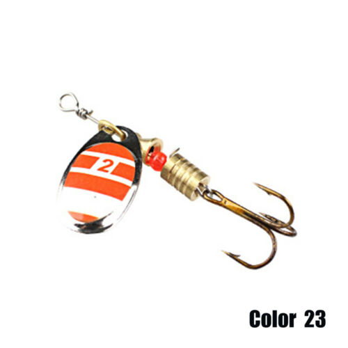 Metal Spinner Bait Bass Spoon Bait Fishing Lure Hard Bait Crap Fishing Tackle