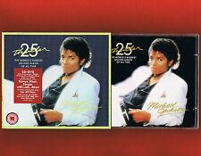 MICHAEL JACKSON Thriller CD/DVD 25th Anniversary Edt Gold Disc's+Promo Sticker